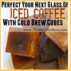 Cold Brew Cubes!