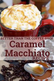 Homemade Caramel Macchiato!