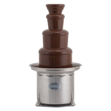"Sephra Montezuma - 34"" Stainless Steel Commercial Chocolate Fountain"