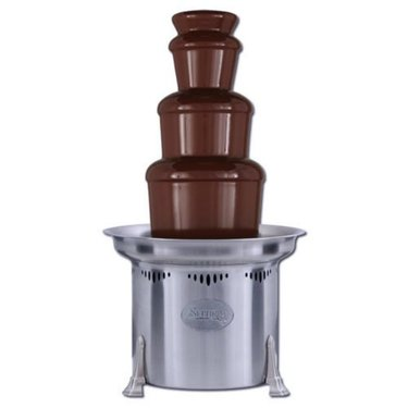 "Sephra Aztec - 27"" Stainless Steel Commercial Chocolate Fountain"