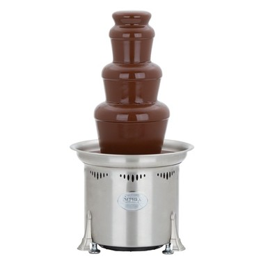 "Sephra Cortez- 23"" Stainless Steel Commercial Chocolate Fountain"