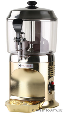 Hot Chocolate Machine - Commercial Drinking Chocolate Dispenser GOLD (5L)