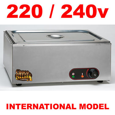 220/240v Chocovision Choco Melter - Chocolate Warmer & Melting Tank - 15 kg Capacity