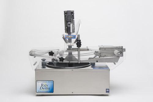 Chocovision Revolation Delta Chocolate Tempering Machine + Enrober + Skimmer Business Package