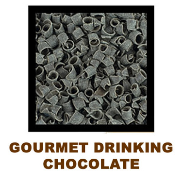 Cioccolata Calda Dark Drinking Chocolate - Italian Style Gourmet Sipping Chocolate (10 lbs)