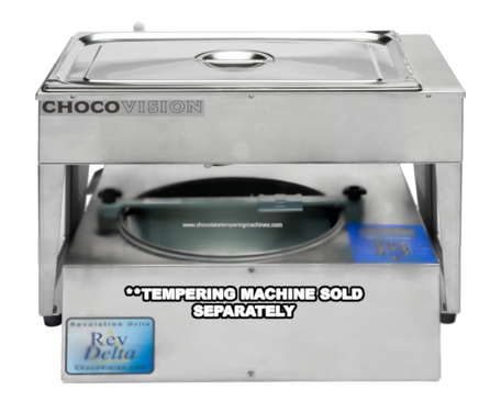 Chocovisoon Drip Feed Melter - Continuous Feed Chocolate Melter or Stand Alone Melting Tank  - 35 lb Capacity