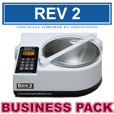 Chocovision Revolation 2 (Rev 2) Chocolate Tempering Business Pack