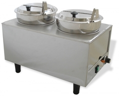 Chocolate Warmer / Melter (Dual Well / 1 Temp)