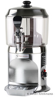 Hot Chocolate Machine - Commercial Drinking Chocolate Dispenser SILVER (5L)