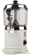 Hot Chocolate Machine - Commercial Drinking Chocolate Dispenser WHITE (5L)