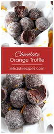 Easy Chocolate Orange Truffles!