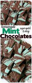 Homemade Mints Chocolate!