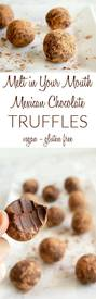 Mexican Chocolate Truffles!