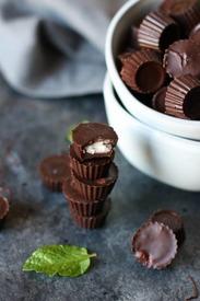 Dark Chocolate Mint Cups!