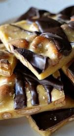 Chocolate Cashew Brittle!