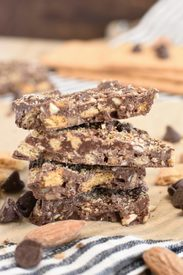 Graham Cracker Toffee Bark!