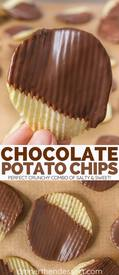 Chocolate Dipped Potato Chips!