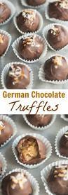 German Chocolate Truffles!