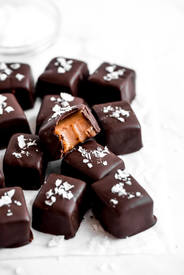 Chocolate Covered Caramels!
