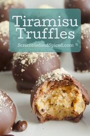 Tiramisu Truffles!