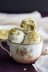 White Chocolate Pistachio Truffles!