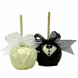 Bride & Groom Apples!
