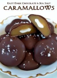 Dark Chocolate & Sea Salt Caramallows!