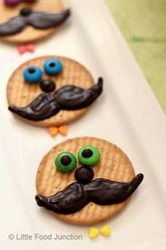 Moustache Cookies!