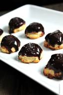 Chocolate Dipped Pecan Sandies!