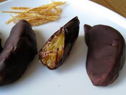 Chocolate Covered Orange Slices!