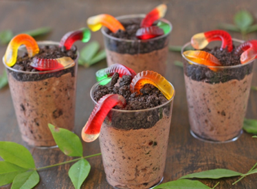 Gummy Worm Dirt Pudding!