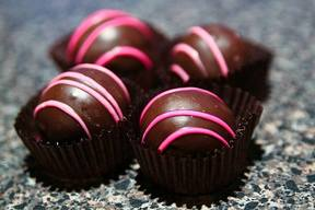Chocolate Raspberry Bon-bons!