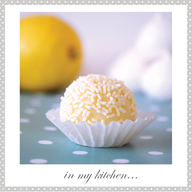 Lemon Meringue White Chocolate Truffles!