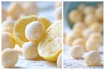 White Chocolate Lemon Truffles!