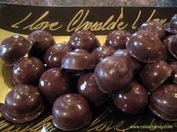 Chocolate Covered Macadamia Nuts!