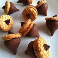 Chocolate Peanut Butter Acorns!