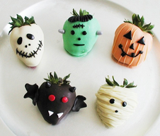Halloween Chocolate Strawberries!