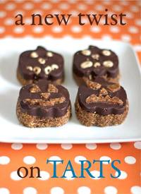 Cheerios & Chocolate Halloween Tarts!