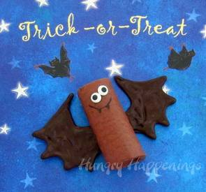 Chocolate Cake Snack Bats!