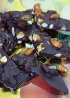 Chocolate Almond Bacon Bark!