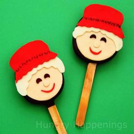 Mrs. Claus Truffle Pops!