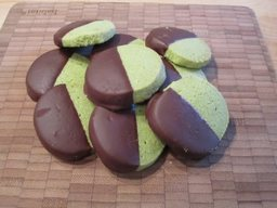 Matcha Shortbread Cookies!