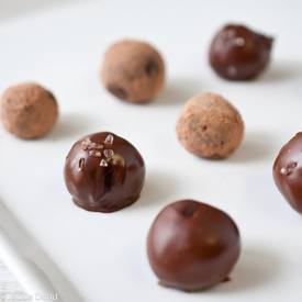 Salted Chocolate Stout Truffles!