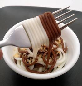 Chocolate Spaghetti?!