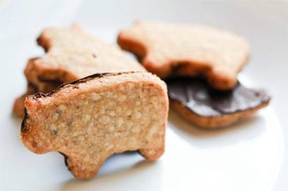 Chocolate Bacon Shortbread Cookies!