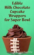Edible Chocolate Cupcake Wraps!