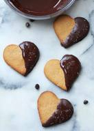 Peanut Butter Heart Cookies!