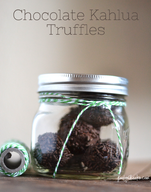 Chocolate Kahlua Truffles!