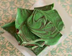 Green Chocolate Bark!