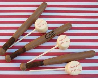 Chocolate Bats & Balls!